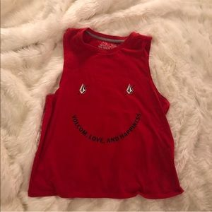 Volcom love and happiness tank top